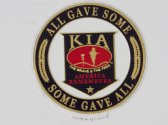 UNITED STATES MILITARY FORCES ALL GAVE SOME.. SOME GAVE ALL 3D EFFECT FRIDGE MAGNET
